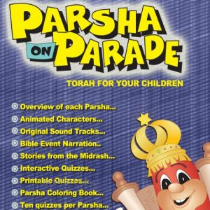 Parsha Parade - Numbers - on CD